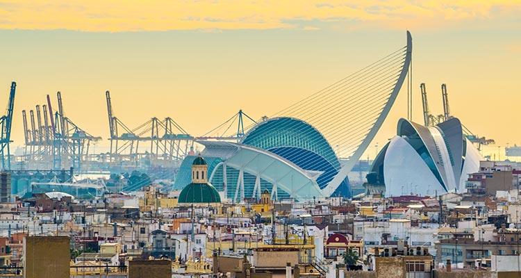 Comunità Valenciana, Murcia, Albacete, Andalusia orientale e Isole Baleari.