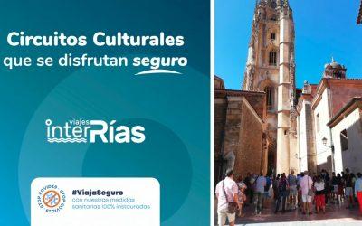 Viajes Interrías muestra sus circuitos culturales con seguridad sanitaria