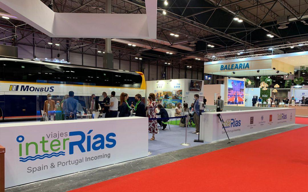 Imagen del Stand de Viajes InterRías en Fitur 2021